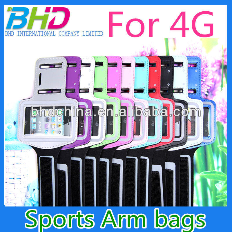 Arm Bag for iPhone 4G/4GS Sport bag Arm Band sport Armband