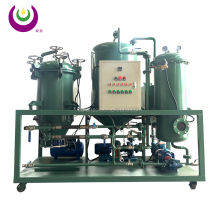 double stage vacuum distillation turbine oil centrifuging machine