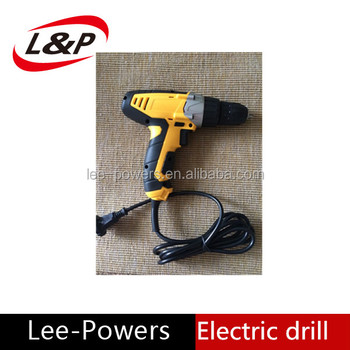 China manufacture high quality portable small dia 10mm magneto DC electric drill