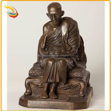 Outdoor Large Metal Bronze Shaolin Monk Statue Sculpture