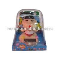 Lovely Solar Artificial Swing Doll