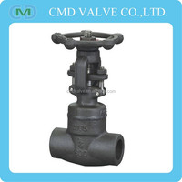 Welded Bonnet Forged SW End Globe Valve DN20