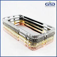 [GGIT] Luxury Bling Diamond Metal Cover For iPhone 5 5G 5S Bumper Case