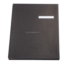 PVC Hardcover Signature Book with Bottom Index