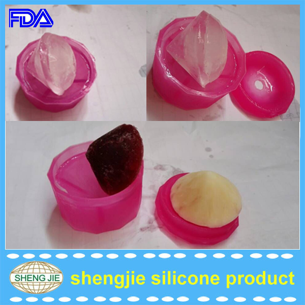 Funny Diy diamond ice cream bar molds silicone ice cube for sale