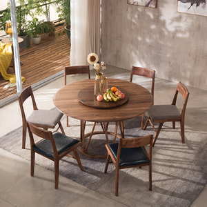 Dining Room Furniture Italian Style Simple High Round Table Set