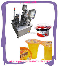 Small Factory Business Cup Jelly Sauce Drinking Water Filling And Sealing Machine
