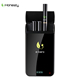 Free electronic cigarette starter kit 1100mah portable charging case e cig with 808d thread