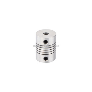 ST-FC07 6.35-10mm 18x25mm Flexible Shaft Coupling for Stepper Motor