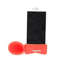 Silicon Mobile Sound Cell Phone Amplifier Speaker For Iphone
