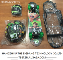 BIGBANG hangzhou skateboard backpack mini wooden kids skateboard complete wholesale
