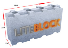New ! CLC/ Interlocking Cellular Light weight Concrete Blocks mold for making hollow blocks(600*250*125)