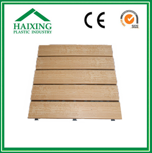wpc floor railings WPC/PVC Decking and Wall Panel No screw CE,SGS,ani-UV