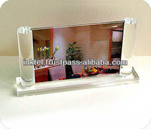 Table top acrylic photo frame / 3R photo frame / customized acrylic photo frame