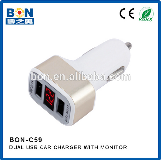 Dual USB Port 2.4A Output Intelligent Wall Travel Charger Adapter Fast Charging