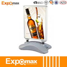 a board with magnet and dry marker poster movable display stand display a-board Aluminium A Board