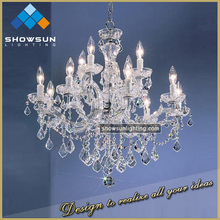 Beautiful modle centerpieces for wedding table lighting high end chandelier