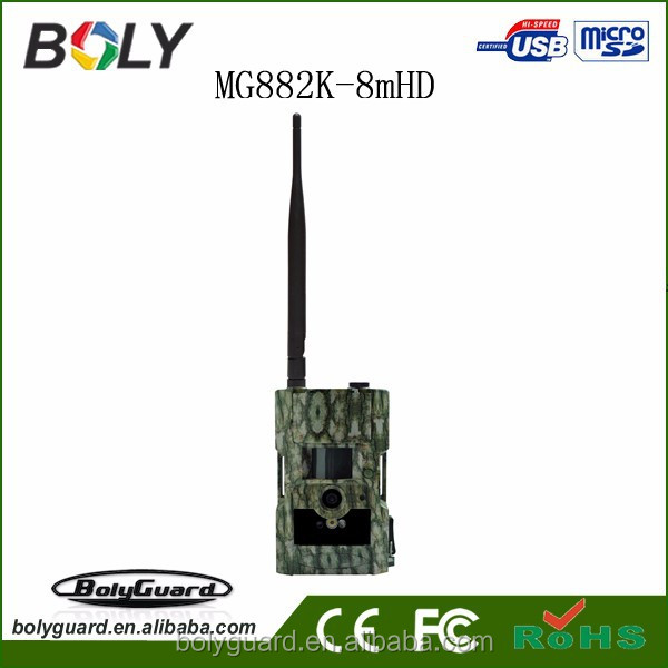 Hot new products for 2015 720p HD 20Mega pixel hidden wireless video night vision hunting camera