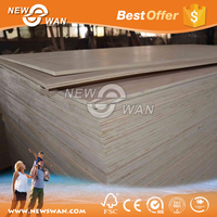 Best Price Commercial Plywood / Okoume Commercial Plywood For Furniture