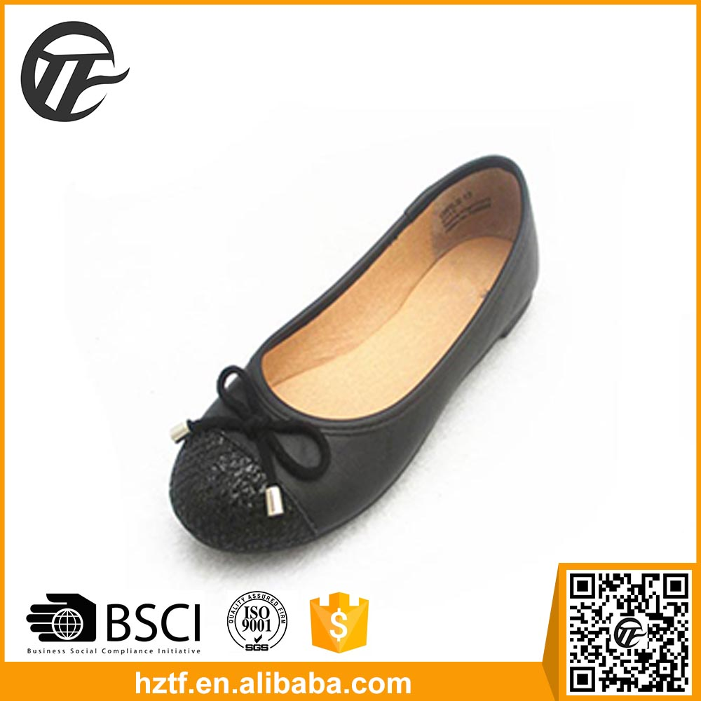 2016 New design ladies beautiful flat wedding shoes