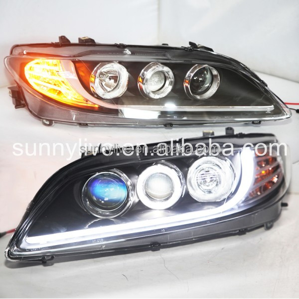 A8 Style MAZDA 6 LED Strip Head Lamps 2003- 2013 year LF