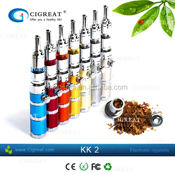 Dry Herb & Wax Vaporizer Pen Kit. KK2 Dry Herb Vape Pen Kit high quality lava tube vaporizer