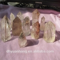 rare natural rock crystal rutilated quartz crystal points,quartz crystal points wholesale,crystal rutilated wand