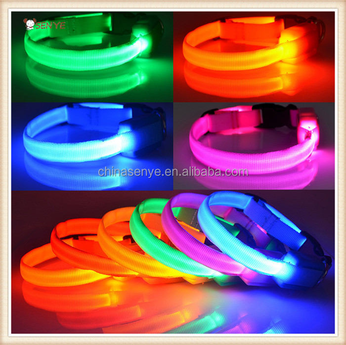 For Small Dog And Cat Remote Control LED Flashing Dog Collar For Chirsmas