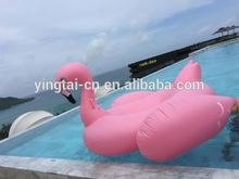 2017 hot sales large Inflatable float flamingo swimming pool