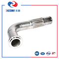 high temperature stainless steel bellow hose/steel flexible pipe