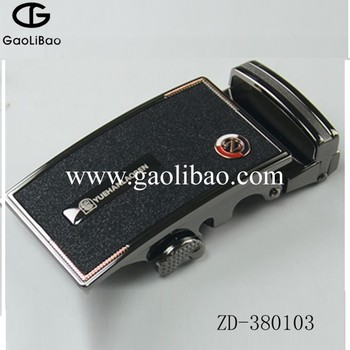 38mm automatic belt buckles magnet buckle with sticker zinc alloy new design ZD380103