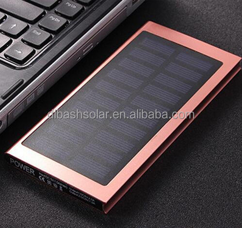 20000 mah extrathin solar power bank solar power all in one solar charger solar power bank