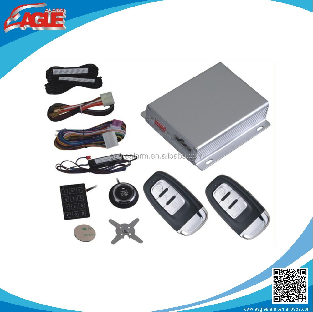 2017 Popular passive car keyless entry with smart push button engine start / PKE car keyless entry system