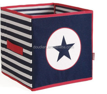 Fashion Novelty Patterned Cardboard Kids Toy Doll Storage Boxes