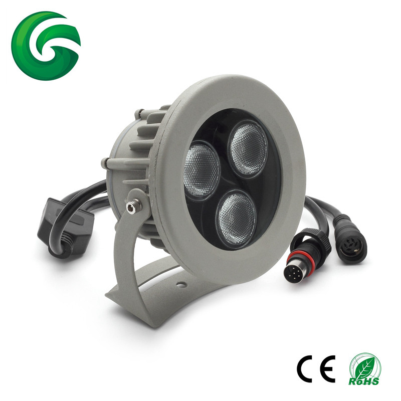 New products 2017 china factory wholesale RGBW 4IN1 led light garden spot lights led garden light