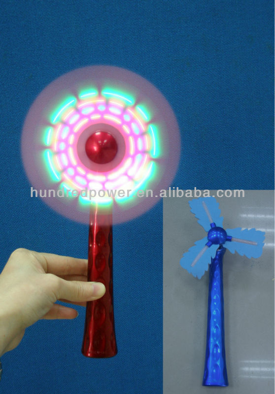 LED Flashing Spinning Windmill for holidays/envents/parties