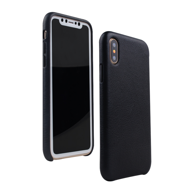 DFIFAN high quality real leather cell phones case for iphone x phone covers for iphone x