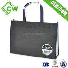 Hot personalized promotion item non woven unique reusable shopping bags