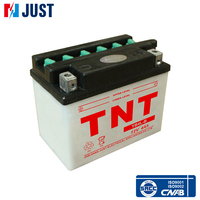 Factory price 12v 4ah lead acid dry cell motorcycle battery