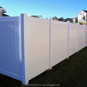 PVC Solid Fence/Plastic Full Privacy Fence