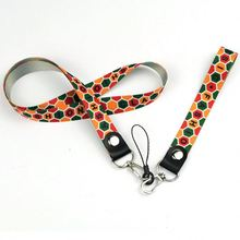 New Arrival Heat Transfer Printed Metal Hook Safety Breakaway Lanyard Pen