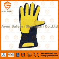 heat resistant fireman protective gloves, emergency fire proof gloves, firefighter utility gloves