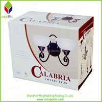 White Lighting Picture Printing Packaging Corrugated Box