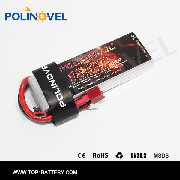 Lipo s2 battery 7.4V 1800mah OEM high quality 3.6V lipo battery for electric car