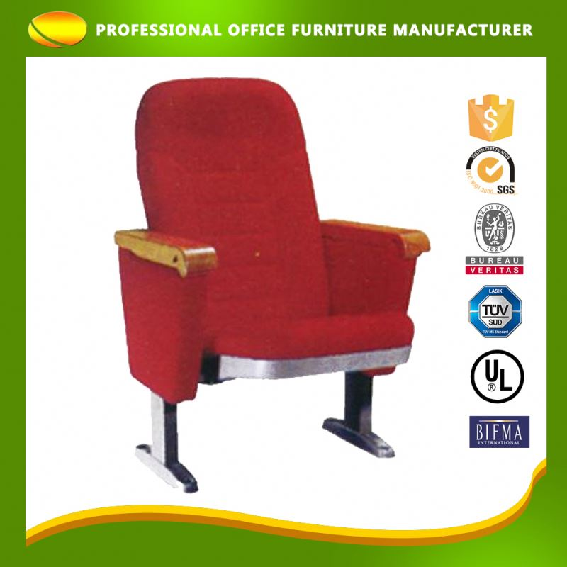 OEM Manufacturer Folding Chairs With Instructions Function For Cinema Hall