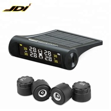 TPMS Solar-powered Wireless External Automotive Tire Pressure Monitoring Alarms Car tpms