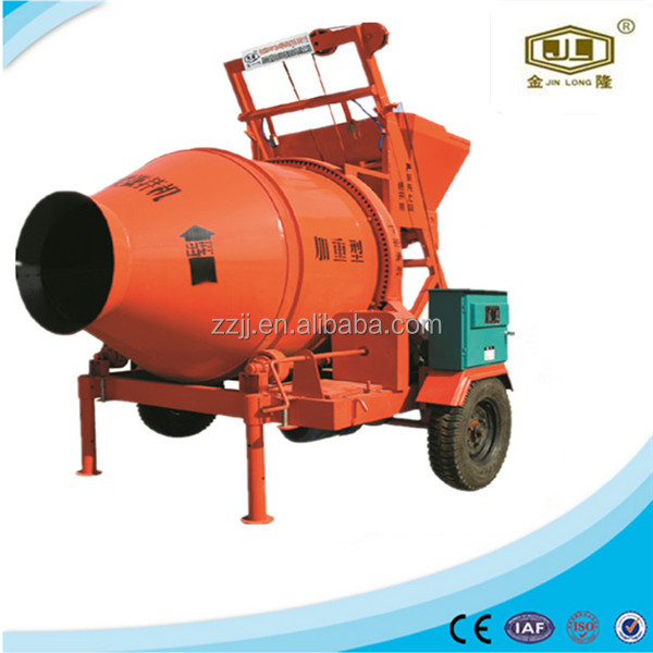 gravity type concrete mixer machine armature construction JZC350