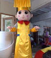 HOLA Mazu mascot costume for adult/god of fortune mascot costume