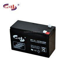 12V 7Ah UPS VRLA battery NP7-12 ISO9001 seald lead acid battery
