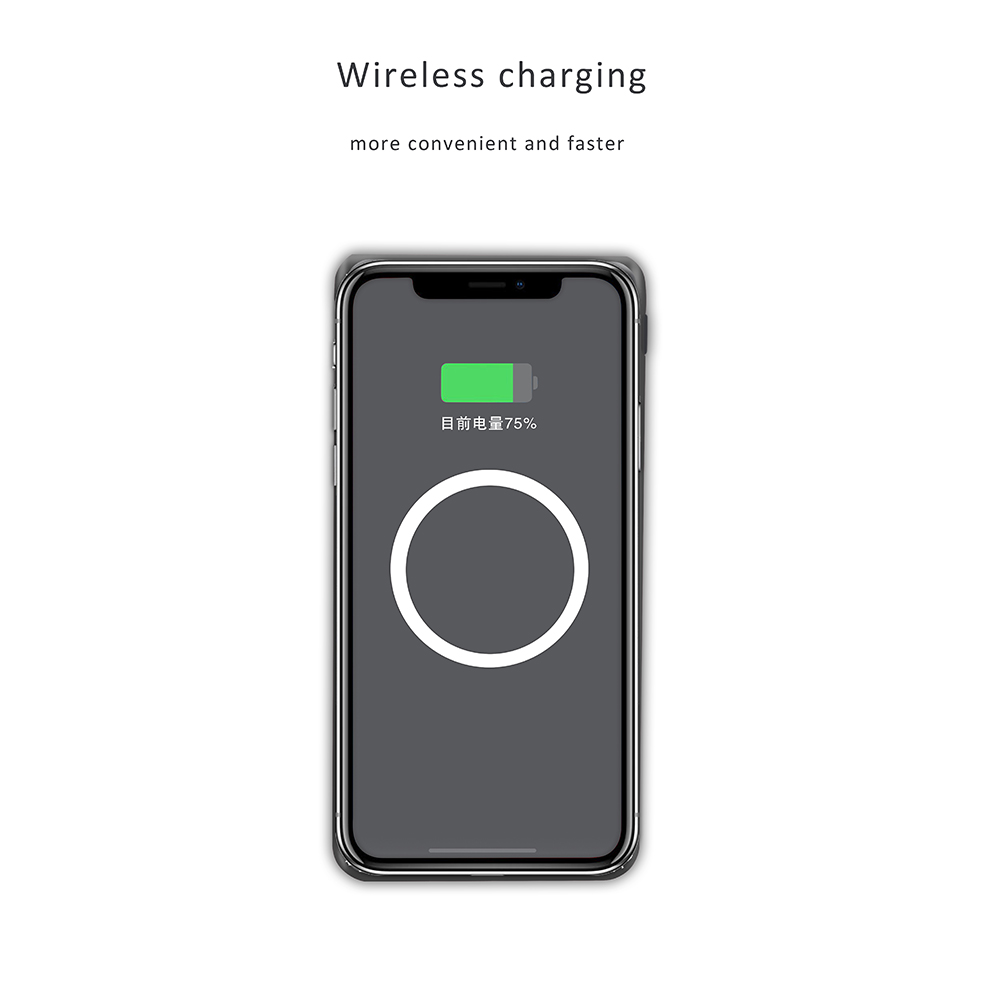 qi wireless charger for iPhone,wireless charger power bank supply from hopepower